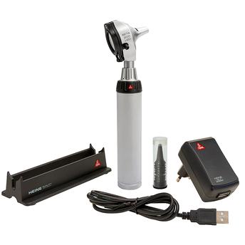 Otoskop Heine Beta 200 F.O. mit LED Beleuchtung und USB Ladegriff