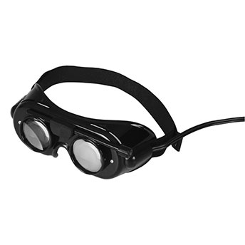 Nystagmusbrille nach FRENZEL Typ 502