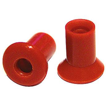 Ohrstöpsel Echoscreen Gr. 4,5 mm rotbraun für TDA, 1 VE/10 Stück