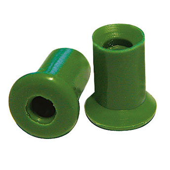 Ohrstöpsel echo screen Gr. 5 mm grün für TDA, 1 VE/10 Stück