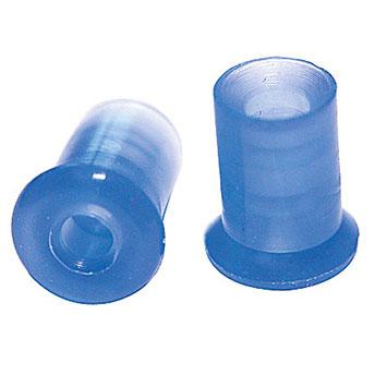 Ohrstöpsel echo screen Gr. 5,5 mm grünblau für TDA, 1 VE/10 Stück