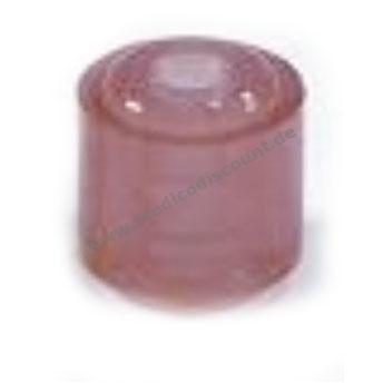 Ohrstöpsel echo screen Gr. 9 mm eisenoxidrot für TDA, 1 VE/10 Stück