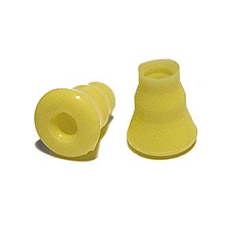 Ohrstöpsel echo screen kegelförmig, gelb für TDA