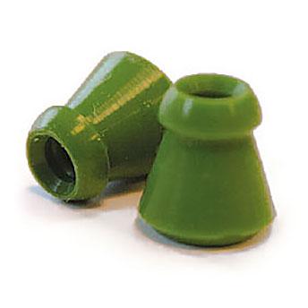 Ohrstöpsel echo screen kegelförmig, grün für TDA