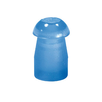 Ohrstöpsel Tymp 9,5mm blau, 1 VE/10 Stück