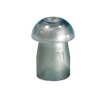 Ohrstöpsel Tymp 11mm grau, 1 VE/10 Stück