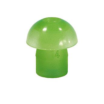 Ohrstöpsel Tymp 14mm grün, 1 VE/10 Stück