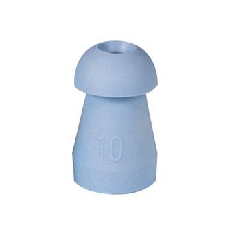 Ohrstöpsel Tymp universal, 10 mm; blau, 1 VE/10 Stück