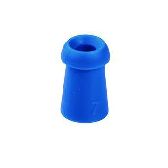 Ohrstöpsel für Tympanometer und OAE-Systeme von Interacoustics und Maico 7 mm blau / 1 VE=10 Stück