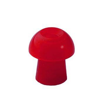 Ohrstöpsel für Tympanometer und OAE-Systeme von Interacoustics und Maico 10 mm rot/ 1 VE=10 Stück