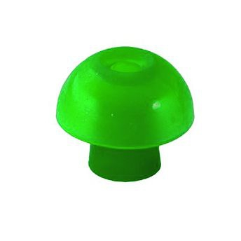 Ohrstöpsel für Tympanometer und OAE-Systeme von Interacoustics und Maico 13 mm grün/ 1 VE=10 Stück