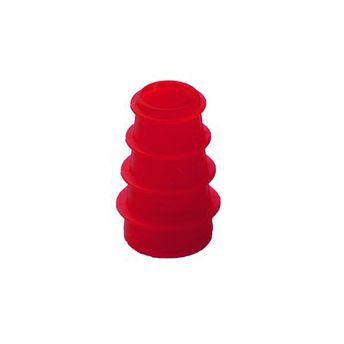 Ohrstöpsel für Tympanometer und OAE-Systeme von Interacoustics und Maico 3-5 mm rot geriffelt/ 1 VE=10 Stück