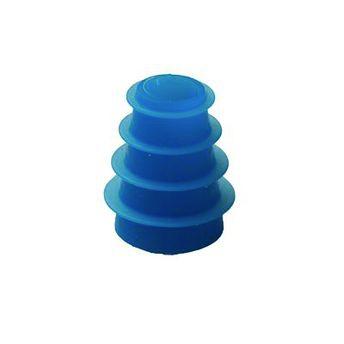 Ohrstöpsel für Tympanometer und OAE-Systeme von Interacoustics und Maico 4-7 mm blau geriffelt/ 1 VE=10 Stück