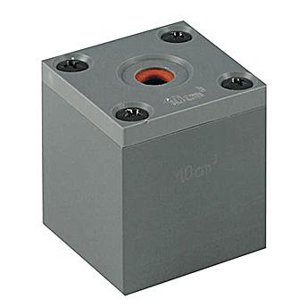 Prüfvolumen 1cm³ für Amdis/Echomaster