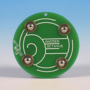 Elektrodentestadapter für Oktavus/Bera grün