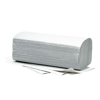 Papierhandtücher Fripa Plus 25x23, weiß (5000 Stück) 1-lagig