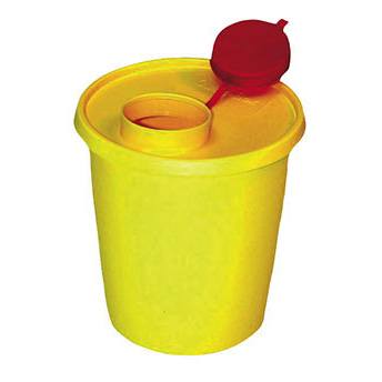 Kanülenabwurfbehälter, 1,5 Liter