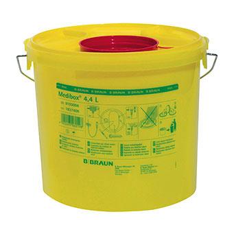 Kanülenabwurfbehälter,  4,4  Liter