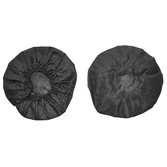 Hygieneschutz für Kopfhörer bis ca. 9 cm Durchmesser schwarz  VE= 100 St.