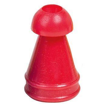 Ohrstöpsel für Capella²,Eroscan,Oscilla,  8 mm rot  VE= 10 St.