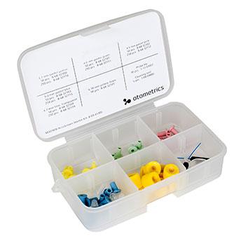 Starter Kit AccuScreen (Ohrstöpsel, Sondenspitzen, Reinigungsnadeln)