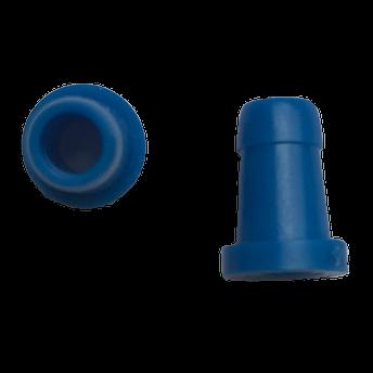 Ohrstöpsel Bio-logic  6mm blau für Sondenspitze PT-A (lang/transparent)  VE/10 Stück
