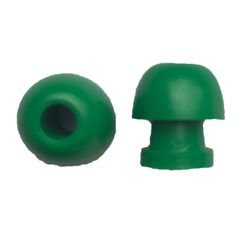 Ohrstöpsel Bio-logic 11 mm grün für Sondenspitze PT-A (lang,transparent)  VE/10 Stück