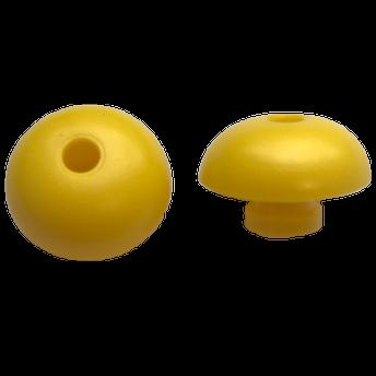 Ohrstöpsel Bio-logic 18,5 mm gelb für Sondenspitze PT-A (lang,transparent)  VE/10 Stück