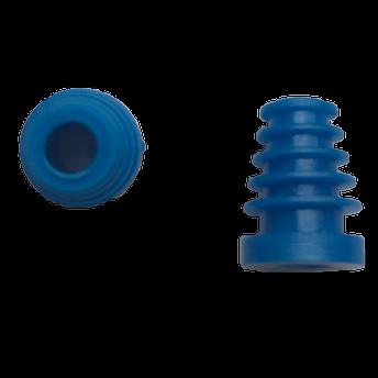 Ohrstöpsel Bio-logic 5-8 mm blau für Sondenspitze PT-A (lang,transparent)  VE/10 Stück